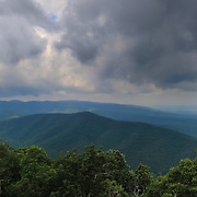 &quot;Storm on Blue&quot;<br /> <br /> Wonderful stormy skies in the Blue Ridge Mountains!