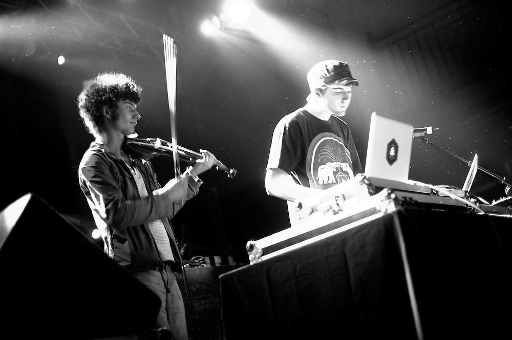 Washington, DC, November 3, 2010 - Emancipator opens for Bassnectar at a sold-out 930 Club.