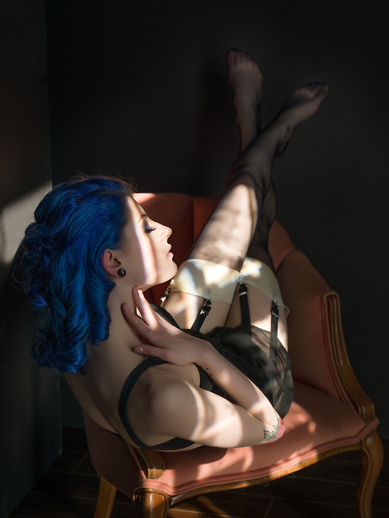 Model: Camille Boire; <br /> Makeup &amp; hair: Judi Willrich; <br /> Styling, lingerie: Gigi's House of Frills;