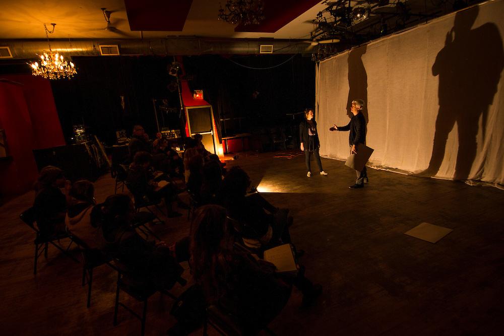 FABRIZIO MONTECCHI<br /> ATELIER POUR ARTISTES PROFESSIONNELS, &agrave; la Salla Rossa, le 19 octobre 2015