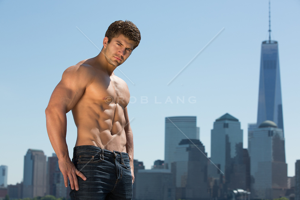 hunk in the city | ROB LANG IMAGES: LICENSING AND COMMISSIONS