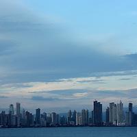 A view of Panama City, Panama on Tuesday, September 4, 2007. (Photo/Scott Dalton).