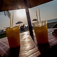 drinks at the beach