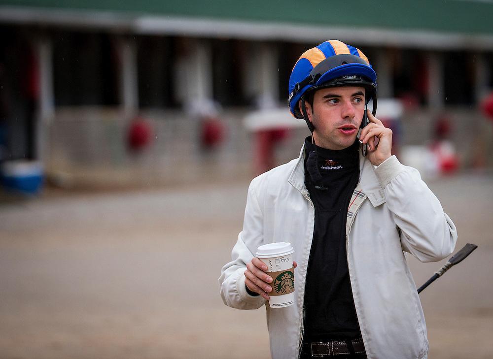 April 30, 2015: Jockey, Florent Geroux at Churchill Downs Louisville Ky. Alex Evers/ESW/CSM