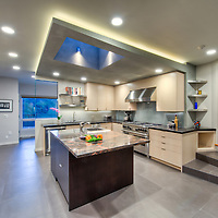 Contemporary remodel of a kitchen