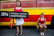Spain - V for Split Catalonia from Spain