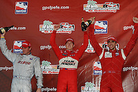 Ryan Briscoe, Ryan Hunter-Reay, Justin Wilson, Indy Car Series