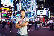 Portrait in Times Square for State Farm