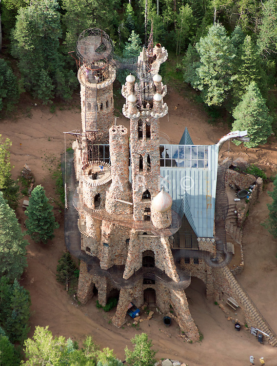 Bishop's Castle.  Highway 165. San Isabel National Forest.  July 21, 2013
