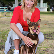 Johanna Griggs at Balmoral Beach and various Mosman locations..Pics Paul Lovelace 09.10.07