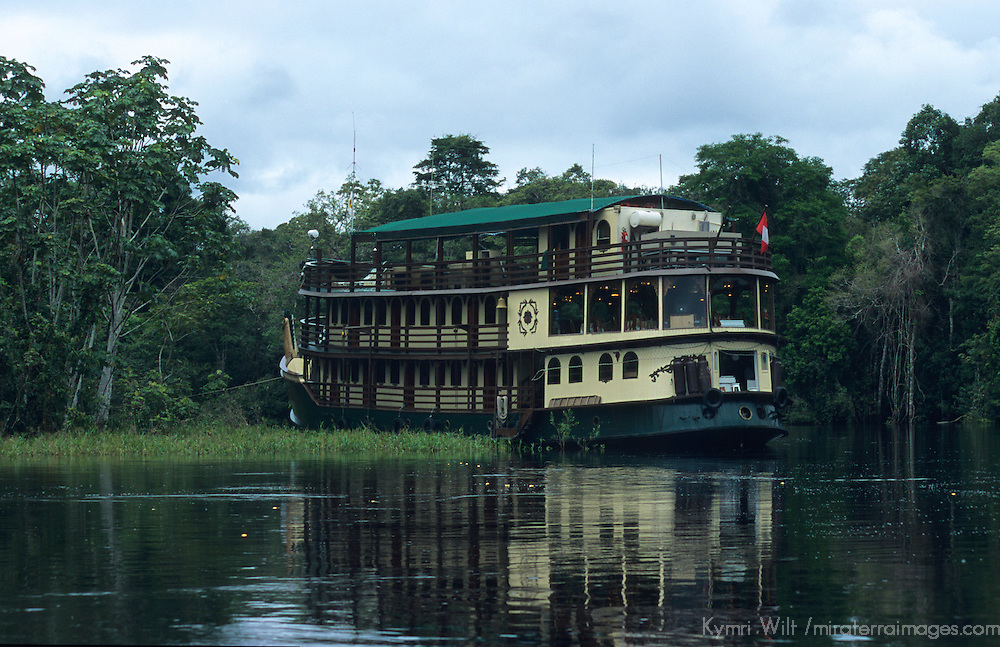 South America, Peru, Amazon River.