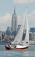 Learning to sail in Manhattan