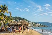 Olas Atlas Beach (Playa Olas Atlas); Puerto Vallarta, Jalisco, Mexico.