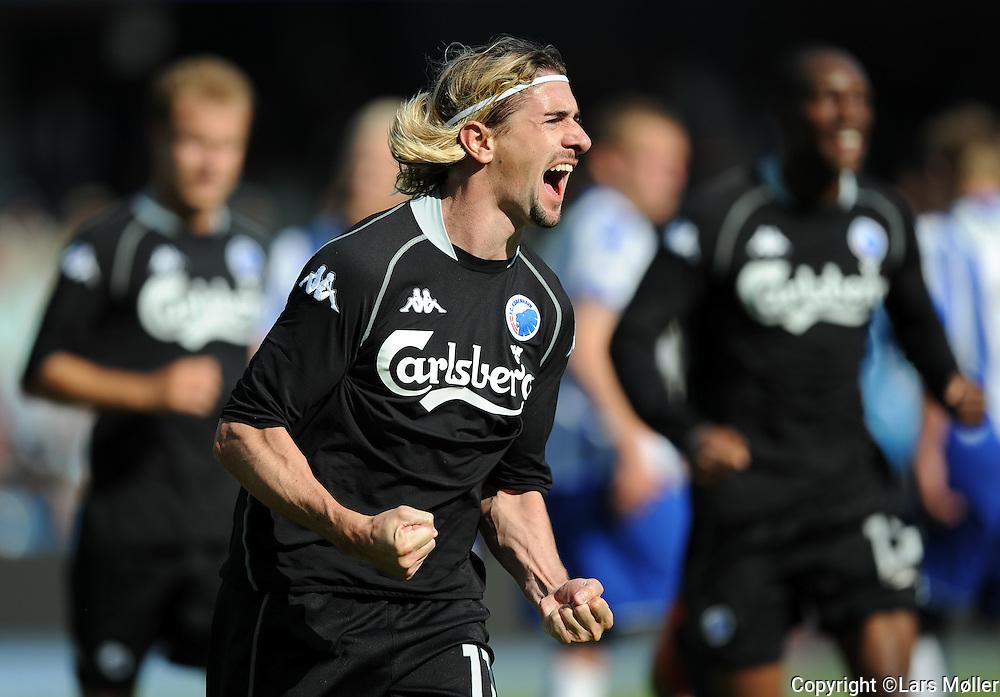 DK Caption:<br /> 20090524, Esbjerg, Danmark:<br /> SAS Liga fodbold Esbjerg - FC K&oslash;benhavn:<br /> C&eacute;sar Santin, FCK.<br /> Foto: Lars M&oslash;ller<br /> UK Caption:<br /> 20090524, Esbjerg, Denmark:<br /> SAS Liga football Esbjerg - FC Copenhagen:<br /> C&eacute;sar Santin, FCK.<br /> Photo: Lars Moeller