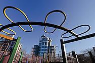 Vincent V. Abate Playground, McCarren Park, Williamsburg, Brooklyn, New York City, New York, USA