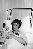 1963 - Beatrice Behan With Newborn Daughter