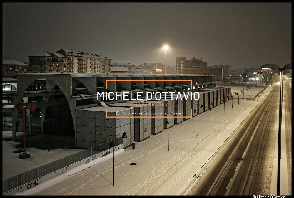 Winter in Torino: ex MOI villaggio olimpico