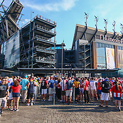 Fans arriving Lincoln Financial Field a Copa America Centenario Group A match between the United States and Paraguay Saturday, June. 11, 2016 at Lincoln Financial Field in Philadelphia, PA.