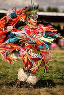 Crow Fair Powwow, Junior Fancy Dancer, Crow Indian Reservation, Montana