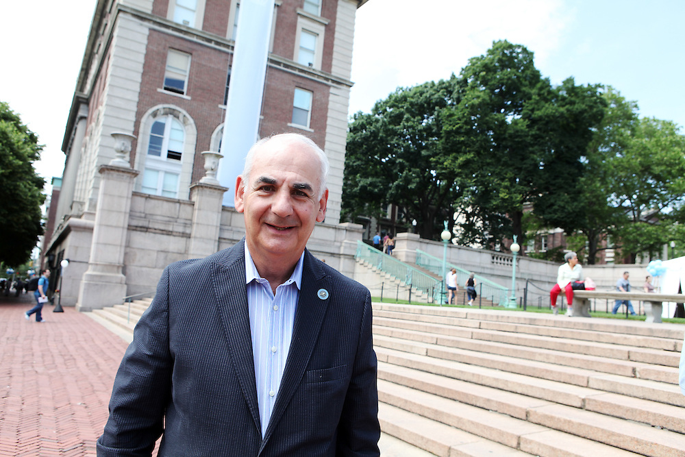 """James Ammeen '61 Business '62..""""Get involved with the College and with your classmates."""""""