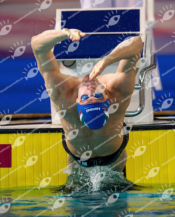 LESTINGI Damiano ITA.50 Backstroke Men.heats.XVI European Short Course Swimming Championships.Chartres - FRA France Nov. 22 -25 2012.Day02.Photo G.Scala/Deepbluemedia/Inside