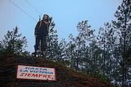 Che on La Farola Highway, Guantanamo, Cuba.