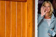 DRIEL 20 SEPTEMBER 2014 - minister van Defensie Hennis-Plasschaert Koning Willem-Alexander woont op zaterdag 20 september in Driel de 70ste herdenking bij ter nagedachtenis aan de bijdrage van de 1ste Poolse Onafhankelijke Parachutistenbrigade aan de Slag om Arnhem. Ook president Komorowski van de Republiek Polen en minister van Defensie Hennis-Plasschaert zijn aanwezig en houden tijdens de herdenking een toespraak. COPYRIGHT ROBIN UTRECHT
