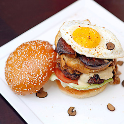 """OVER THE EDGE"" BURGER"