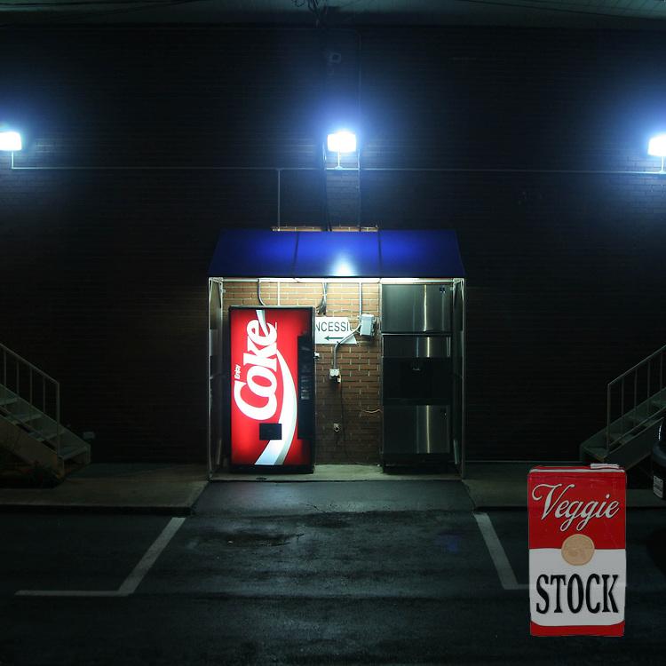 Coke vending machine, Motel in Tennessee, USA, 2004.