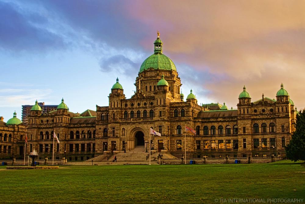 British Columbia Parliament Building, Victoria, Canada