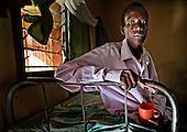 Uganda Aids patient