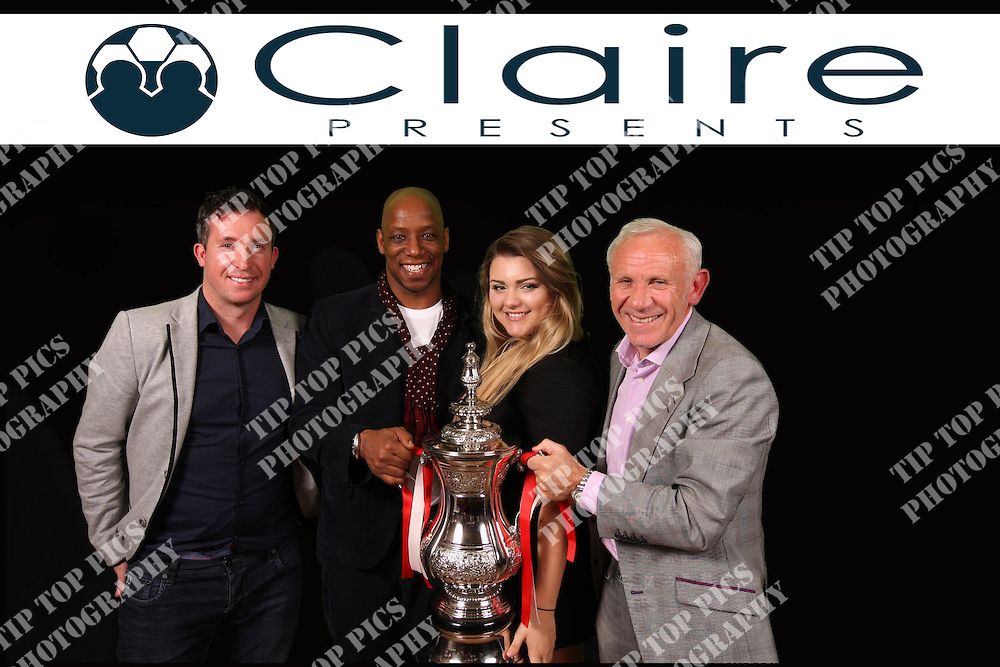 CLAIRES PRESENTS, ROBBIE FOWLWER, IAN WRIGHT, PETER REID,<br /> THE WINNING POST,<br /> PIC CHRIS SARGEANT,