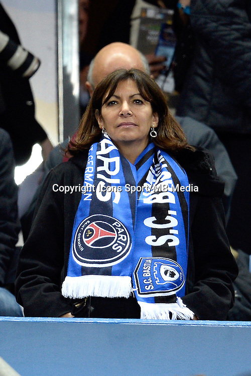 ANNE HIDALGO    - 11.04.2015 -  Bastia / PSG - Finale de la Coupe de la Ligue 2015<br />Photo : Visual / Icon Sport