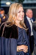 23 -1-2017 DEN HAAG - Koningin Maxima is maandag 23 januari 2017 aanwezig bij het 'Jaarevent van nlgroeit', een platform gericht op ondernemers die willen doorgroeien. Tijdens de bijeenkomst in de Fokker Terminal in Den Haag wordt de 'Groei Top 250' gelanceerd.Copyright ROBIN UTRECHT<br /> 23 -1-2017 THE HAGUE - Queen Maxima is Monday, January 23, 2017 attended the &quot;Annual Event of nlgroeit&quot; a platform aimed at entrepreneurs who want to grow. During the meeting in the Fokker Terminal in The Hague, the 'Top 250 Growth' gelanceerd. Copyright ROBIN UTRECHT