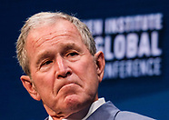 Former U.S. President George W. Bush in Milken Institute Global Conference