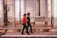 Women in Moron, Ciego de Avila, Cuba.