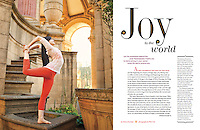Elinore Cohen at Yoga Journal US Magazine, Feb 2013