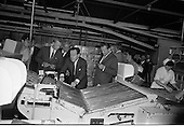 1967 - Russian (Soviet) Trade Group visit Bolands Biscuit Factory, Deansgrange