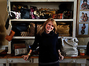 Elizabeth Seeger, owner and designer of Satchel and graduate from the Savannah College of Art and Design, returned to Savannah after a short time in Los Angeles to open her business in historic downtown Savannah. (Photo by Stephen Morton)