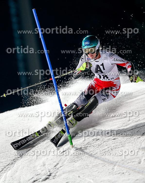 13.01.2015, Hermann Maier Weltcupstrecke, Flachau, AUT, FIS Weltcup Ski Alpin, Flachau, Slalom, Damen, 1. Lauf, im Bild Carmen Thalmann (AUT) // Carmen Thalmann of Austria in action during 1st run of the ladie's Slalom of the FIS Ski Alpine World Cup at the Hermann Maier Weltcupstrecke in Flachau, Austria on 2015/01/13. EXPA Pictures © 2015, PhotoCredit: EXPA/ Johann Groder