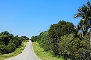 Country road, Bartolome Maso area, Granma, Cuba.