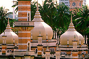 MALAYSIA, KUALA LUMPUR Masjid Jame or 'Friday Mosque' built in 1907, in the downtown area near the Chinatown district