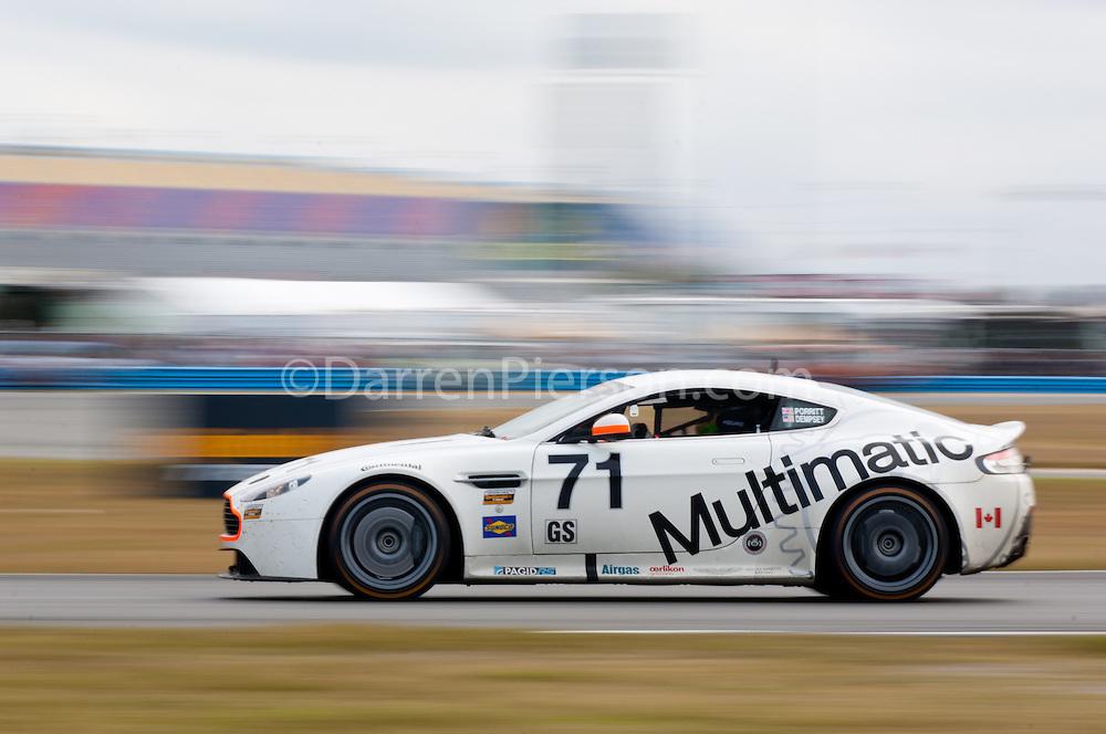 #71 Multimatic Motorsports Aston Martin Vantage: Patrick Dempsey, Chris Porritt