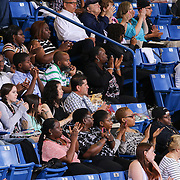 Family and Friends attend Christiana High School 52nd commencement exercises Monday, June 01, 2015, at The Bob Carpenter Sports Convocation Center in Newark, Delaware.