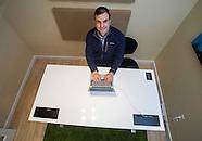JP Labrosse, CEO. Stir Kinetic Desk.