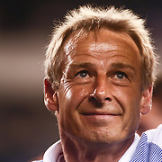United States Manager JURGEN KLINSMANN leaves the field after a Copa America Centenario Group A match between the United States and Paraguay Saturday, June. 11, 2016 at Lincoln Financial Field in Philadelphia, PA.