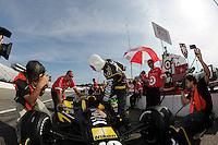 Dario Franchitti, Nikon sponsorship, New Hampshire Motor Speedway, Loudon, NH USA 8/14/2011