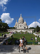 Paris, Sacre Coeur, France