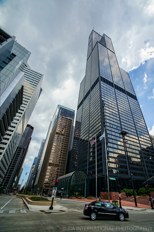 Willis Tower @ Wacker Drive & Adams Street