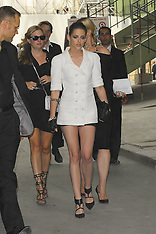 JULY 02 2013 Guests at Haute Couture Fall Winter